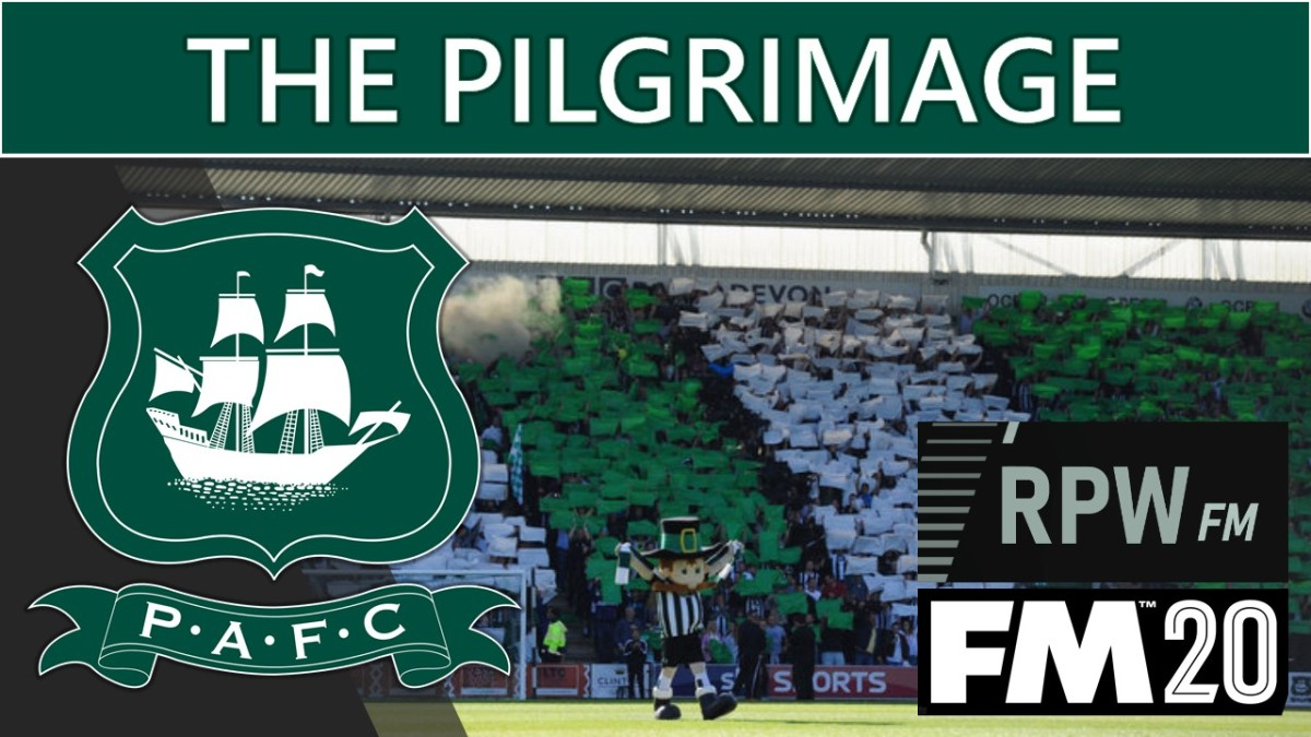 My first FM20 save: 'The Pilgrimage'